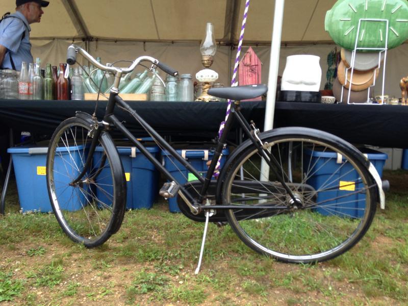 美国古董自行车